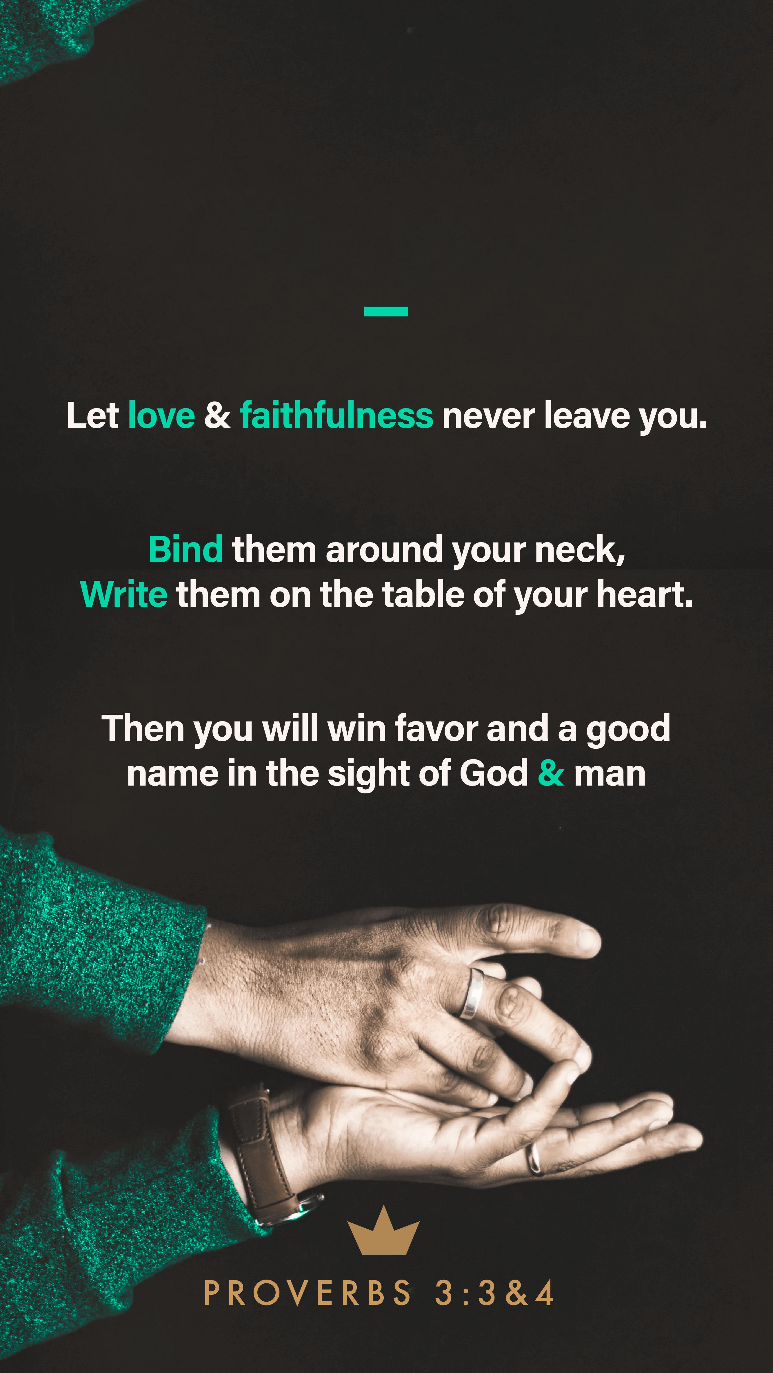 Proverbs – 3