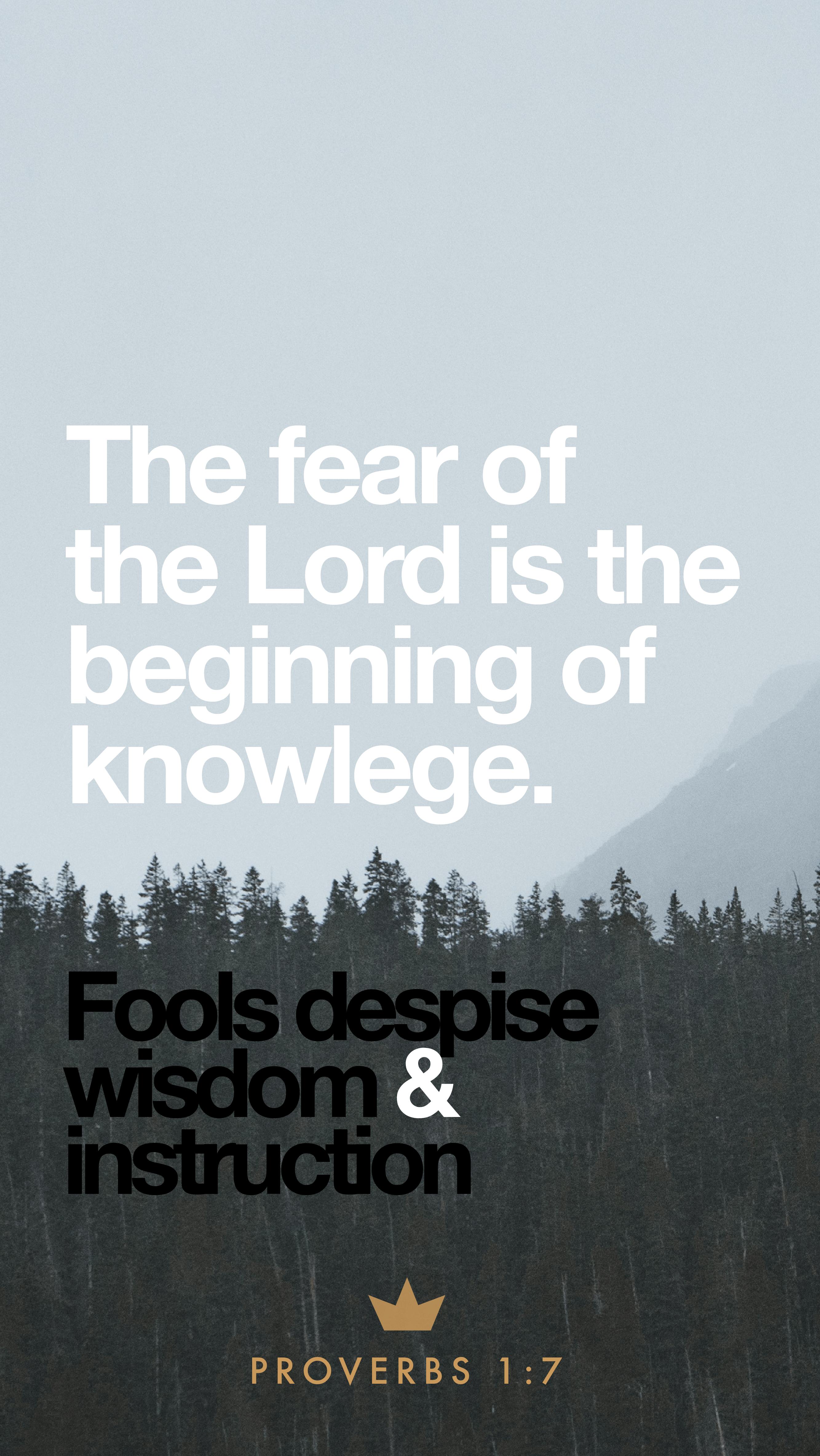 Proverbs – 1
